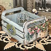 Для дома и интерьера ручной работы. Ярмарка Мастеров - ручная работа Нежность, ящичек, декупаж. Handmade.