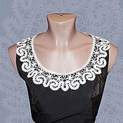 Аксессуары handmade. Livemaster - original item Lace collar VALENCIA. Handmade.