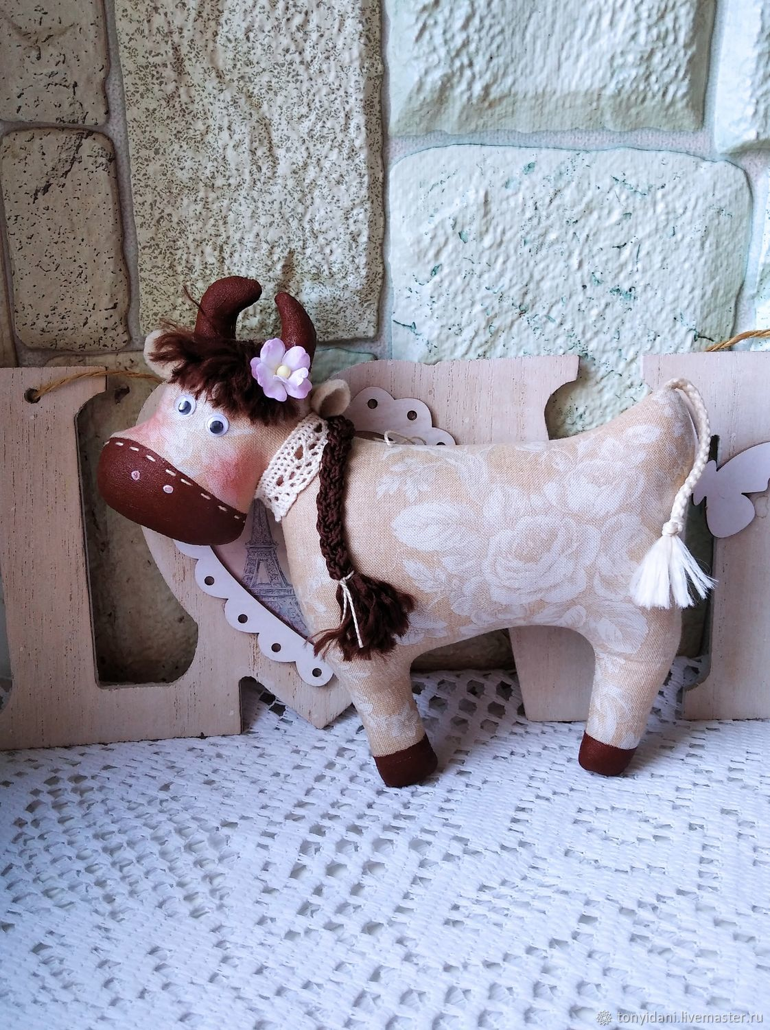 The symbol of 2021 is the FAI cow, Stuffed Toys, Novouralsk,  Фото №1