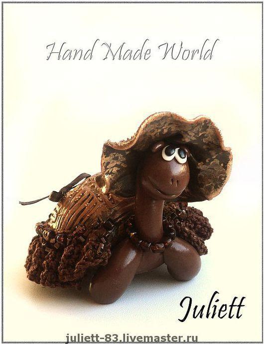 Trinket Boxes handmade. Livemaster - handmade. Buy Mini-box turtle 'Matilda'.Jewelry box, decoration for interior, lace