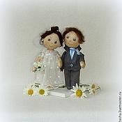 Куклы и игрушки ручной работы. Ярмарка Мастеров - ручная работа Счастья и любви. Свадебные куколки.. Handmade.