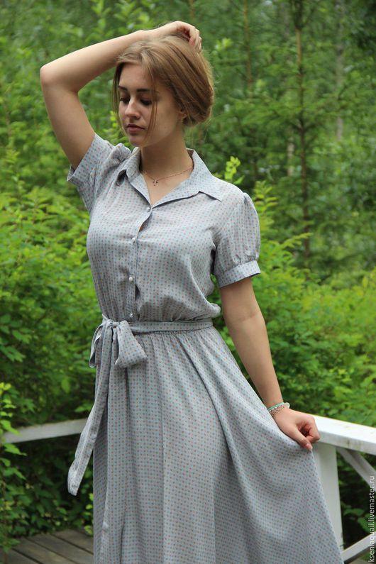 """Платья ручной работы. Ярмарка Мастеров - ручная работа. Купить Платье """"Летнее настроение"""". Handmade. Комбинированный, платье в пол"""