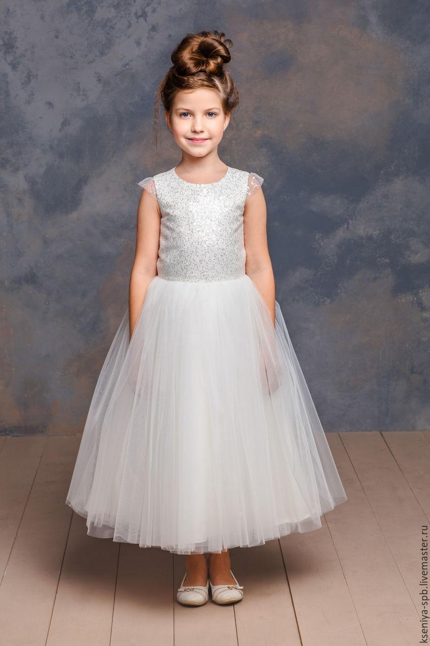 где купить пышное платье для девочки