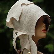 Аксессуары ручной работы. Ярмарка Мастеров - ручная работа Дизайнерская шляпка. Шляпка для весны, для осени.. Handmade.