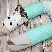 Для дома и интерьера ручной работы. Ярмарка Мастеров - ручная работа Бортик в кроватку / Подушка для беременных. Handmade.