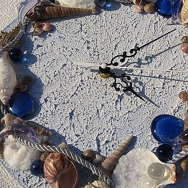 """Для дома и интерьера ручной работы. Ярмарка Мастеров - ручная работа Часы """"Шторм"""". Handmade."""