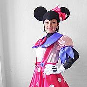 Одежда handmade. Livemaster - original item Minnie Mouse (pink). Animator-actor suit. Handmade.