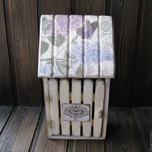 """Прихожая ручной работы. Ярмарка Мастеров - ручная работа. Купить Ключница-  """" Домик окнами в сад..."""". Handmade."""