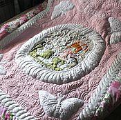 Для дома и интерьера ручной работы. Ярмарка Мастеров - ручная работа Именное одеяло для девочки Вари. Handmade.