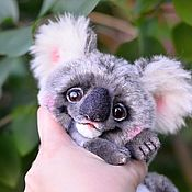 Куклы и игрушки handmade. Livemaster - original item Koala OOAK Artist teddy bear friend by Ntalytools. Handmade.