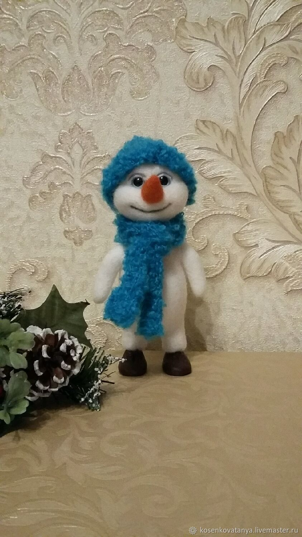 Снеговик, Мягкие игрушки, Егорьевск,  Фото №1