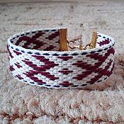 Русский стиль handmade. Livemaster - original item Bracelet Ognevitsa. Handmade.