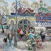 Картины и панно ручной работы. Ярмарка Мастеров - ручная работа 70-е. Handmade.
