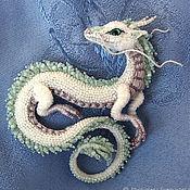 handmade. Livemaster - original item Dragon Brooch