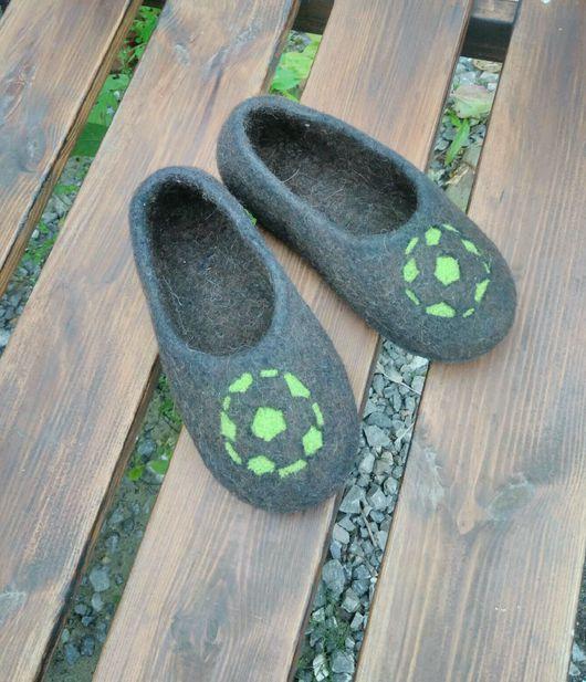 Обувь ручной работы. Ярмарка Мастеров - ручная работа. Купить Тапочки валяные детские. Handmade. Обувь на заказ, войлочные тапочки