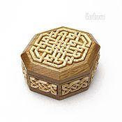 Для дома и интерьера ручной работы. Ярмарка Мастеров - ручная работа Шкатулка  восьмиугольная. Handmade.