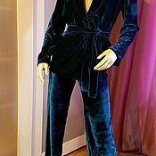 Одежда ручной работы. Ярмарка Мастеров - ручная работа Бархатный костюм. Handmade.