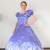 Одежда handmade. Livemaster - original item Princess Sofia. Scenic suit/Carnival costume. Handmade.