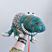 Куклы и игрушки ручной работы. Ярмарка Мастеров - ручная работа Инопланетный питомец Мотя. Handmade.