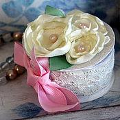 Подарки к праздникам ручной работы. Ярмарка Мастеров - ручная работа Коробочка для кольца. Handmade.