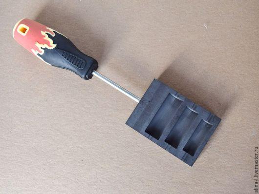 Для украшений ручной работы. Ярмарка Мастеров - ручная работа. Купить графитовая лопатка 3 в 1. Handmade. Комбинированный, для лэмпворка