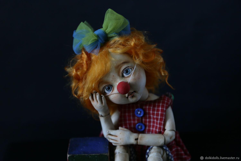клоун Наташа, Шарнирная кукла, Дзержинский,  Фото №1