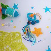 Куклы и игрушки handmade. Livemaster - original item Children`s rosary developing Space. Handmade.