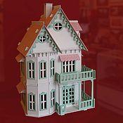"""Кукольные домики ручной работы. Ярмарка Мастеров - ручная работа Кукольный домик """"С балконом"""". Handmade."""