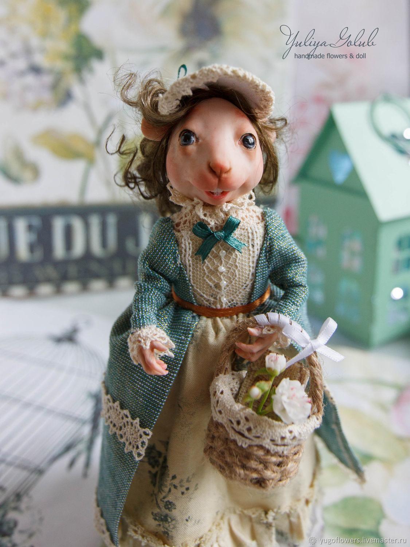 Мышка Мэри из полимерной глины, Куклы и пупсы, Белгород,  Фото №1