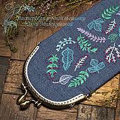 Сумки и аксессуары handmade. Livemaster - original item Spectacle Case Herbarium. Handmade.