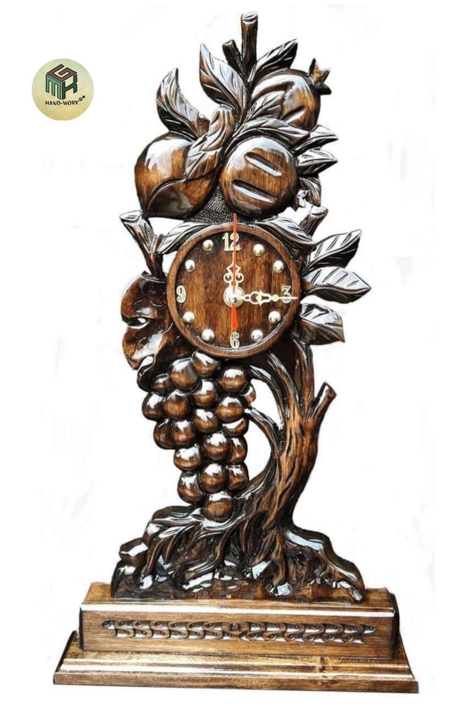 Резные сувенирные часы арт.068, Часы классические, Москва,  Фото №1