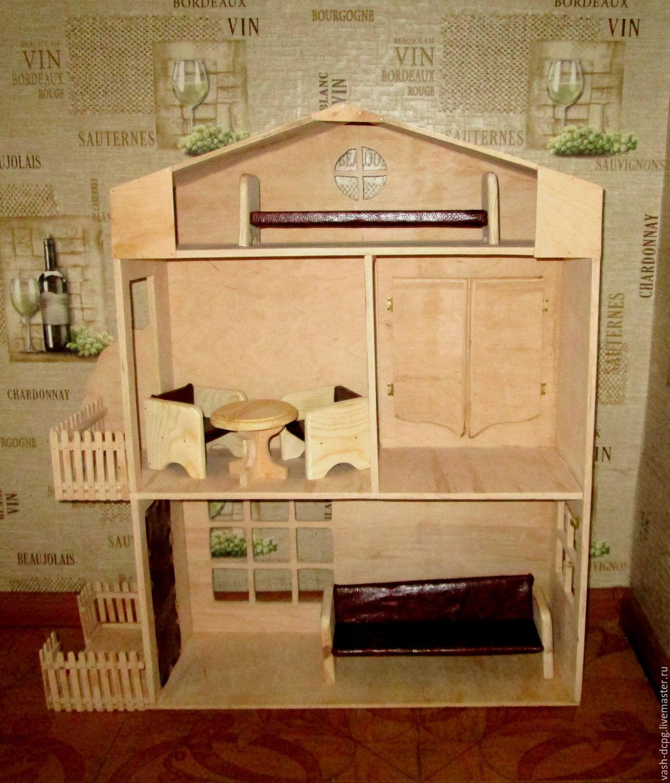 Как сделать мебель для кукол своими руками для начинающих