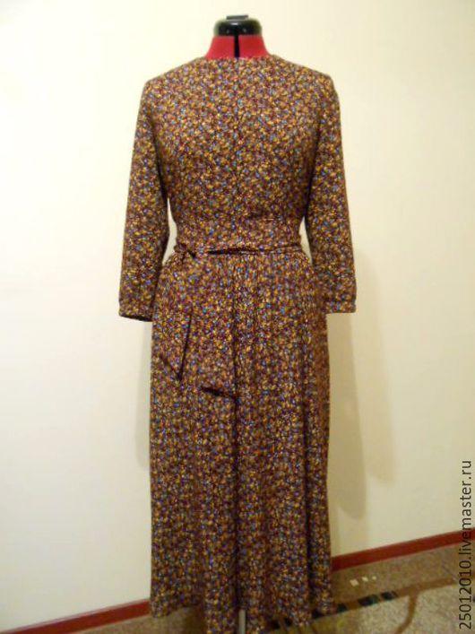 Платья ручной работы. Ярмарка Мастеров - ручная работа. Купить Платье деревенское. Handmade. Цветочный, платье летнее