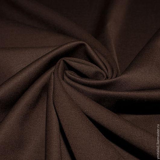 Шитье ручной работы. Ярмарка Мастеров - ручная работа. Купить Шерсть плательно-костюмная с эластаном S.FERRAGAMO. Handmade.