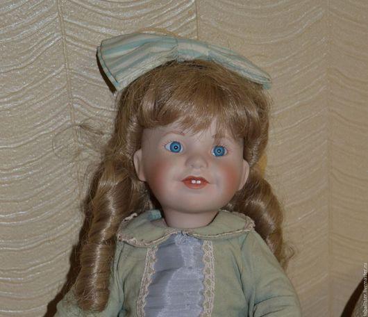 Винтажные куклы и игрушки. Ярмарка Мастеров - ручная работа. Купить Куколка из личной коллекции. Handmade. Коллекционная кукла, хлопковое кружево