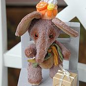 Куклы и игрушки ручной работы. Ярмарка Мастеров - ручная работа Апельсиновый Слон. Handmade.