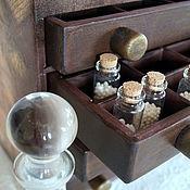 Для дома и интерьера ручной работы. Ярмарка Мастеров - ручная работа Комод для гомеопатии. Женская версия. Handmade.
