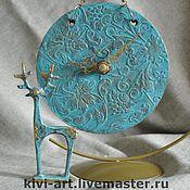 """Часы классические ручной работы. Ярмарка Мастеров - ручная работа Часы """"Старая бронза"""". Handmade."""