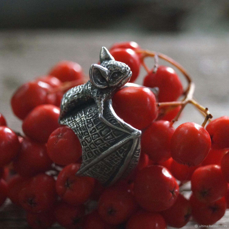 Летучая мышь (арт. Rng100), Кольца, Санкт-Петербург,  Фото №1