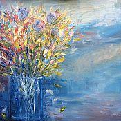 """Картины и панно ручной работы. Ярмарка Мастеров - ручная работа Картина """"Осенний букет"""". Handmade."""