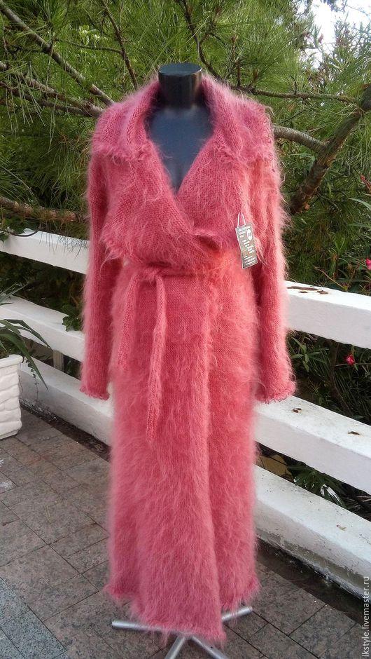 """Верхняя одежда ручной работы. Ярмарка Мастеров - ручная работа. Купить Пальто """"Сухая роза"""". Handmade. Брусничный"""
