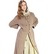 """Одежда ручной работы. Ярмарка Мастеров - ручная работа Пальто из натурального льна ,,1"""". Handmade."""