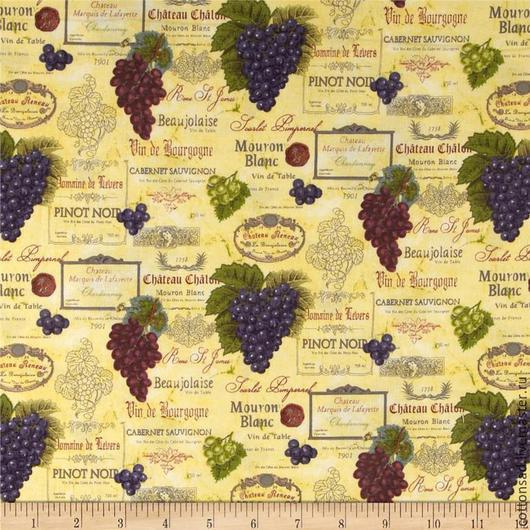 """Шитье ручной работы. Ярмарка Мастеров - ручная работа. Купить Набор тканей. (3 вида)"""" Французское вино"""" Американский хлопок.. Handmade."""