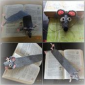 Мягкие игрушки ручной работы. Ярмарка Мастеров - ручная работа книжная мышь. Handmade.