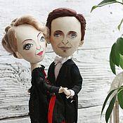 Куклы и игрушки handmade. Livemaster - original item Dancing couple. Handmade.