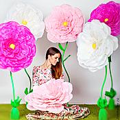 Свадебный салон ручной работы. Ярмарка Мастеров - ручная работа Бумажные цветы. Handmade.