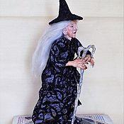 Куклы и игрушки ручной работы. Ярмарка Мастеров - ручная работа Ведьма, Колдунья, декор на Хэллоуин, кукла. Handmade.