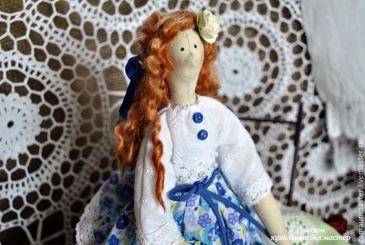 Куклы Тильды ручной работы. Ярмарка Мастеров - ручная работа. Купить Кукла тильда Флора. Интерьерная текстильная кукла в стиле Тильда.. Handmade.