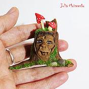 """Куклы и игрушки ручной работы. Ярмарка Мастеров - ручная работа Лесной дух """"Мудрый""""  миниатюра. Handmade."""