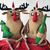 Куклы и игрушки ручной работы. Ярмарка Мастеров - ручная работа ...весело, весело встретим Новый год!.... Handmade.